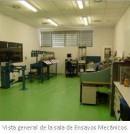 Vista general de la sala de Ensayos Mecánicos
