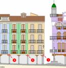 Monitorización Plaza Torico de Teruel