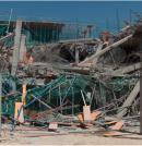 Hundimiento durante construcción de edificio de oficinas
