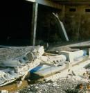 Hundimiento de un depósito en Melilla