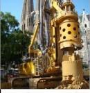 Asistencia técnica a Proyecto y Ejecución de Cimentaciones. Pantalla protección Sagrada Familia