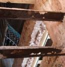 Corrosión de viguetas de forjado