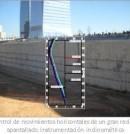 Control de movimientos horizontales de un gran recinto apantallado. Instrumentación inclinométrica