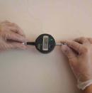 Bases de extensómetro, con una precisión de 0,01 mm