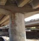 Corrosión en armaduras en pilas y tableros de viaductos