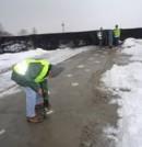 Ensayos de Impacto Eco en un puente en Polonia