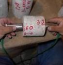 Realización de ensayos de velocidad de impulso ultrasónico