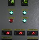 8 Dispositivo de control de la cámara de curado